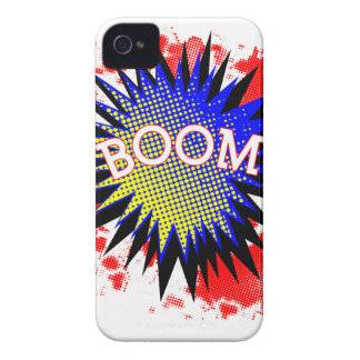 Comic Boom iPhone 4 Case-Mate Cases