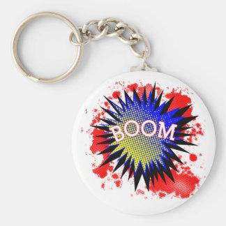 Comic Boom Keychain