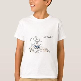 Comic cat treadmill T-Shirt
