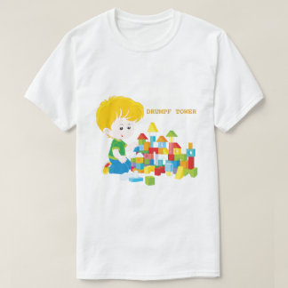 Comic Drumpf Tower T-Shirt