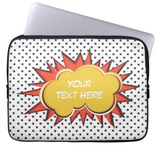 Comic Explosion Laptop Sleeve