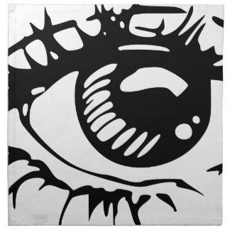 Comic Eye Napkin