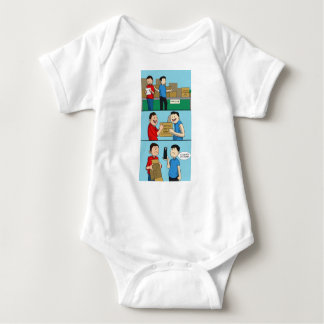 Comic funnies baby edition baby bodysuit