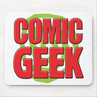 Comic Geek Mouse Mat
