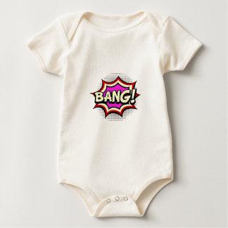 Comic Girl Baby Bodysuit