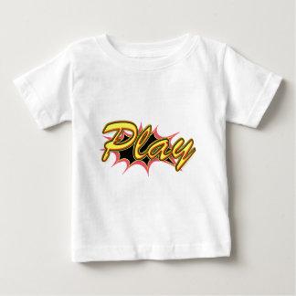 Comic Girl Baby T-Shirt