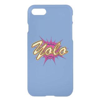 Comic Girl E Yolo. 136x136@3x 408x408 iPhone 8/7 Case
