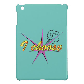 Comic Girl iPad Mini Case