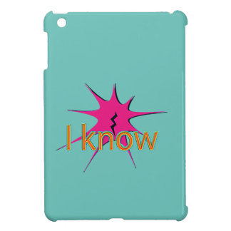 Comic Girl iPad Mini Covers