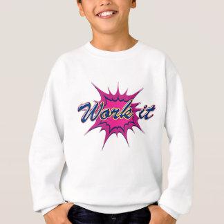 Comic Girl Sweatshirt