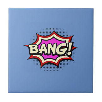 Comic Girl Tile