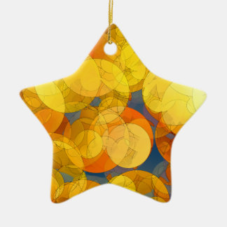 COMIC GOLDEN BUBBLES Ornament