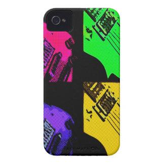 COMIC GUITAR ART iPhone 4 CASES