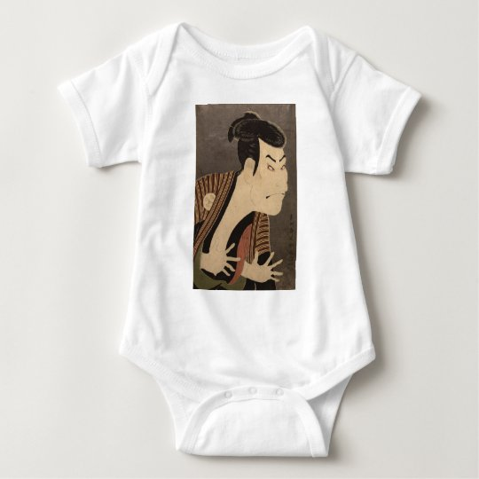Comic Kabuki Actor Baby Bodysuit