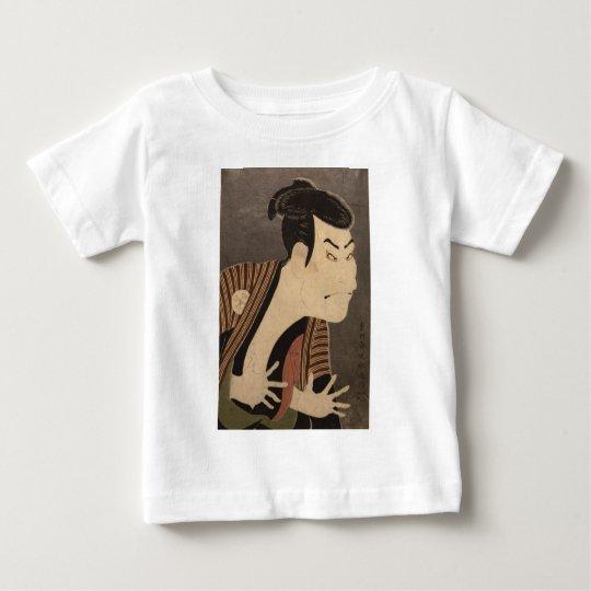 Comic Kabuki Actor Baby T-Shirt
