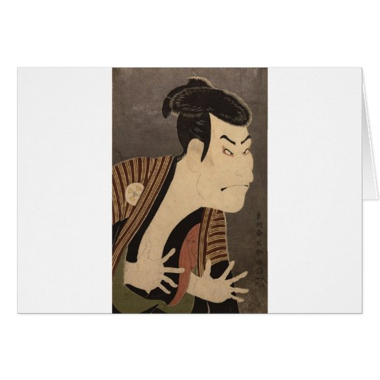 Comic Kabuki Actor Card