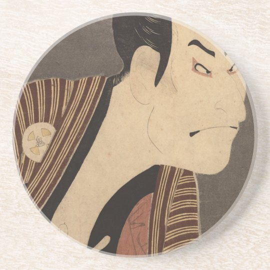 Comic Kabuki Actor Coaster