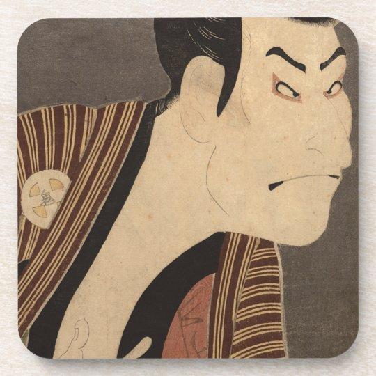 Comic Kabuki Actor Coaster