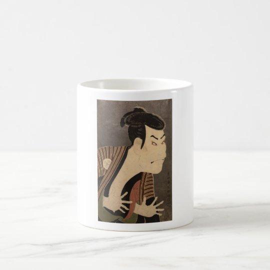 Comic Kabuki Actor Coffee Mug