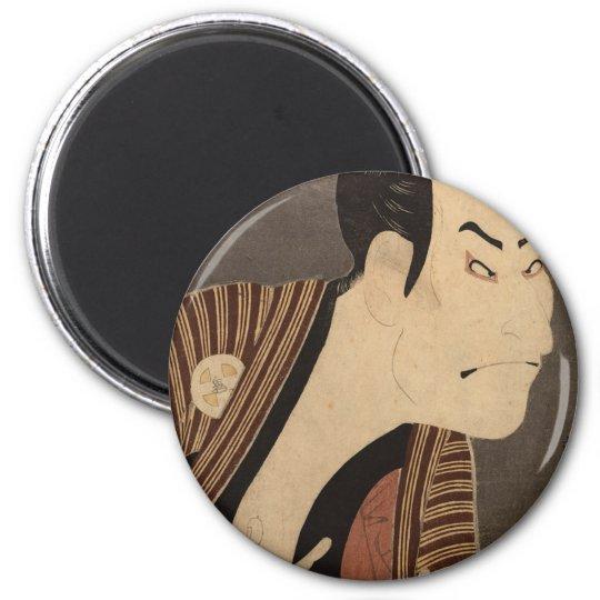 Comic Kabuki Actor Magnet