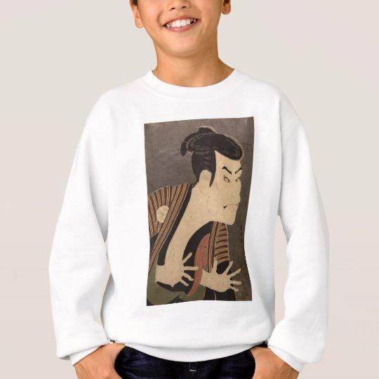 Comic Kabuki Actor Sweatshirt