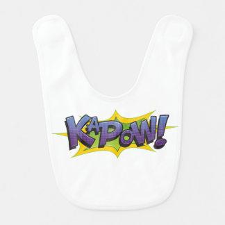 Comic KaPow! Bib