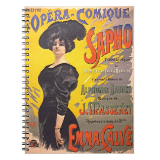 Comic Opera Playbill 1897 Notebook