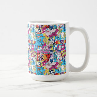 Comic Pattern Coffee Mug