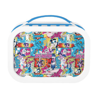 Comic Pattern Lunch Box