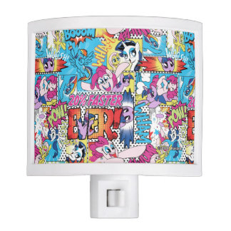 Comic Pattern Night Light