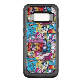Comic Pattern OtterBox Commuter Samsung Galaxy S8 Case