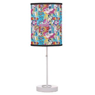 Comic Pattern Table Lamp