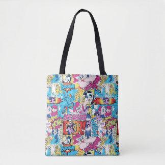 Comic Pattern Tote Bag
