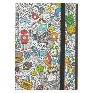 Comic Pop art Doodle iPad Air Cover