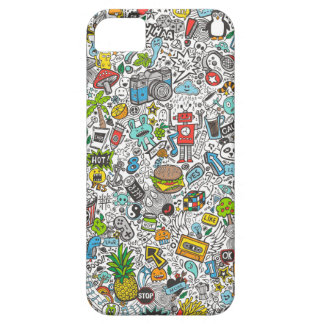 Comic Popart Doodle Case For The iPhone 5