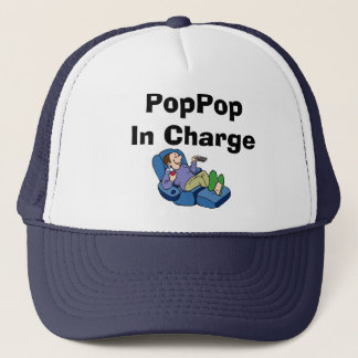 Comic PopPop, PopPop In Charge Trucker Hat