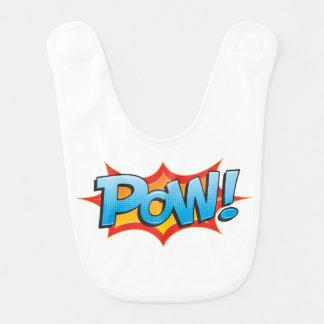Comic Pow! Bib