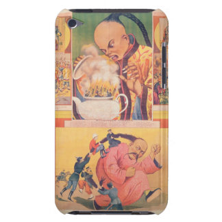 Comic Russian poster satirizing the Europeans in C iPod Touch Case-Mate Case