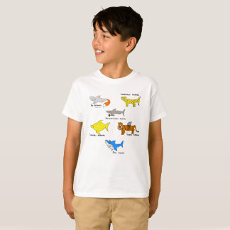 Comic sharks for kidz T-Shirt