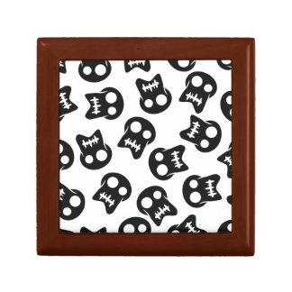 Comic Skull black pattern Gift Box