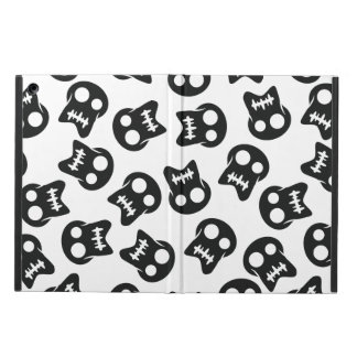 Comic Skull black pattern iPad Air Cover