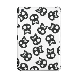Comic Skull black pattern iPad Mini Cases