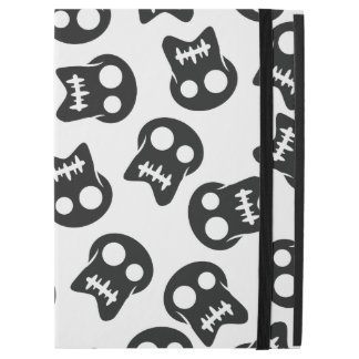 "Comic Skull black pattern iPad Pro 12.9"" Case"