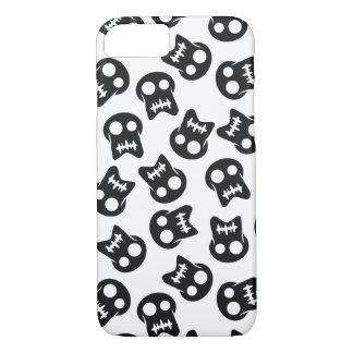 Comic Skull black pattern iPhone 8/7 Case