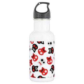 Comic Skull colorful pattern 532 Ml Water Bottle