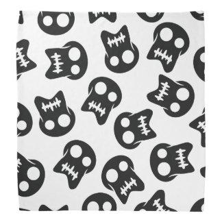 Comic Skull colorful pattern Bandana