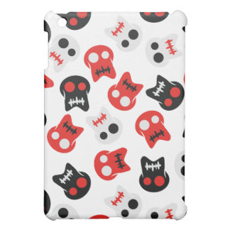 Comic Skull colorful pattern Case For The iPad Mini