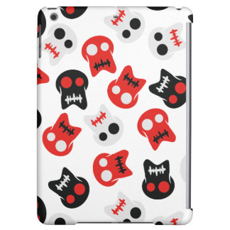 Comic Skull colorful pattern Cover For iPad Air