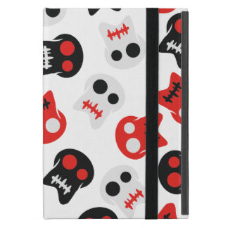 Comic Skull colorful pattern Cover For iPad Mini