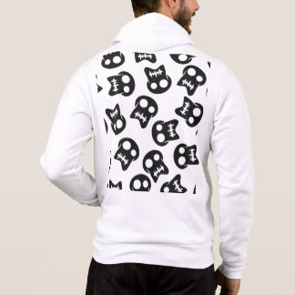 Comic Skull colorful pattern Hoodie